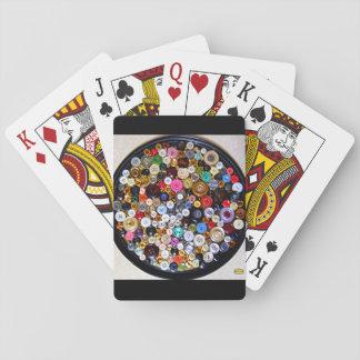 Cartes À Jouer 22ème Motif ; Collage de bouton