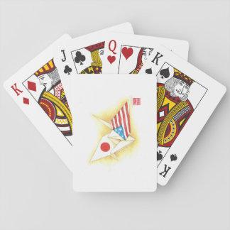 Cartes À Jouer Amitié Japon-États-Unis de ~ de cartes de jeu
