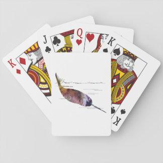 Cartes À Jouer Art de Narwhal