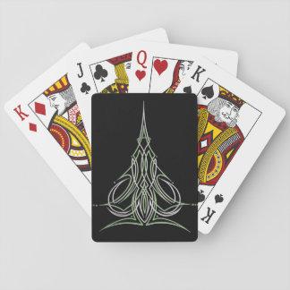 Cartes À Jouer Art fait sur commande de Pinstriping de filet de
