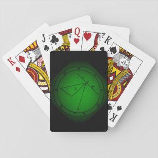 Cartes À Jouer Arts foncés