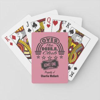 Cartes À Jouer Au-dessus du club de colline cartes personnalisées
