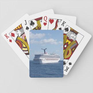 Cartes À Jouer Bateau en mer