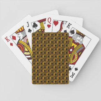 Cartes À Jouer Bernaches dans des cartes de jeu d'or
