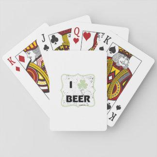 Cartes À Jouer Bière de jour de St Patty St Patrick drôle