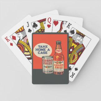 Cartes À Jouer Bière professionnelle grande par les cartes de jeu