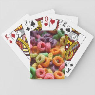 Cartes À Jouer Boucles de fruit
