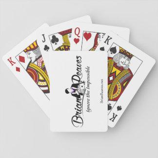 Cartes À Jouer Brian Reaves des cartes de jeu de logo avec le