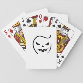 Cartes À Jouer Cadeau drôle de Halloween 2017 squelettiques de