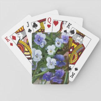Cartes À Jouer Cadeau floral de jardinier de cartes de jeu de