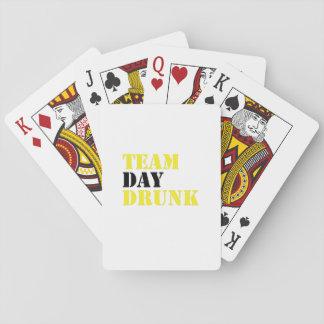 Cartes À Jouer Cadeau potable drôle de buveur bu par jour