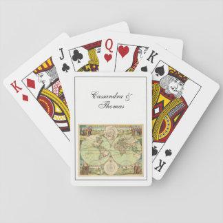 Cartes À Jouer Carte antique #4 du monde