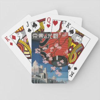 Cartes À Jouer Carte de jeu de Vintage1930s Tokyo Japon