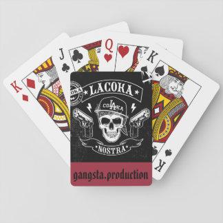 Cartes À Jouer carte gangsta