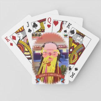 Cartes À Jouer Cartes de coupe de cheveux