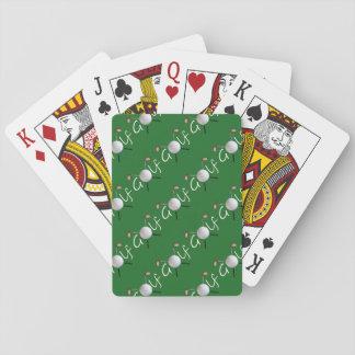 Cartes À Jouer Cartes de jeu carrelées par golf