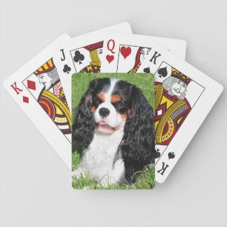 Cartes À Jouer Cartes de jeu cavalières du Roi Charles Tri-Color