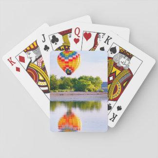 Cartes À Jouer Cartes de jeu chaudes de ballon à air