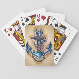 Cartes À Jouer Cartes de jeu d'ancre