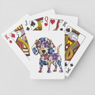 Cartes À Jouer Cartes de jeu de beagle