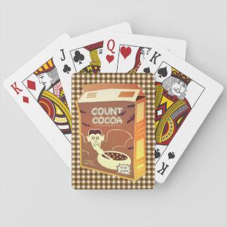 Cartes À Jouer Cartes de jeu de boîte à céréale de cacao de