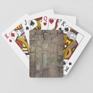 Cartes À Jouer Cartes de jeu de brique, visages standard d'index