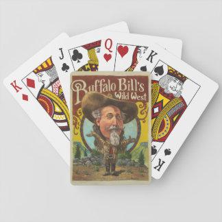 Cartes À Jouer Cartes de jeu de Buffalo Bill