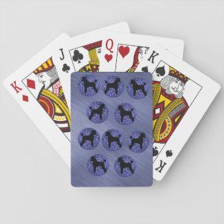 Cartes À Jouer Cartes de jeu de caniche