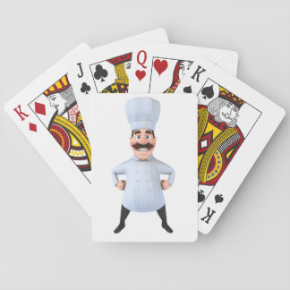 Cartes À Jouer Cartes de jeu de chef