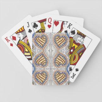 Cartes À Jouer Cartes de jeu de coeurs de tarte aux cerises