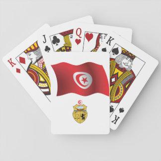 Cartes À Jouer Cartes de jeu de drapeau de la Tunisie
