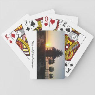 Cartes À Jouer Cartes de jeu de fontaine d'ananas