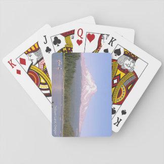 Cartes À Jouer Cartes de jeu de lac Trillium, Orégon