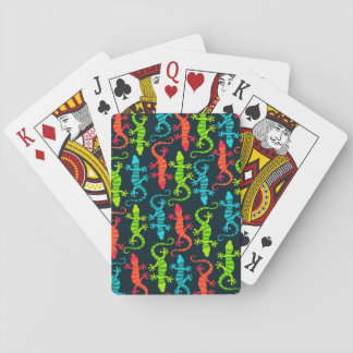 Cartes À Jouer Cartes de jeu de lézard