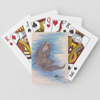 Cartes À Jouer Cartes de jeu de loutre de mer