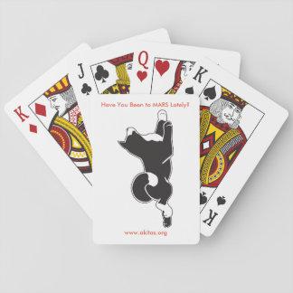 Cartes À Jouer Cartes de jeu de MARS