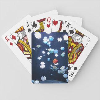 Cartes À Jouer Cartes de jeu de monogramme de méduses