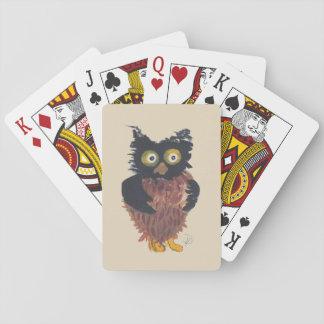 Cartes À Jouer Cartes de jeu de petit hibou
