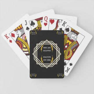 Cartes À Jouer Cartes de jeu de signature de marque de Micah