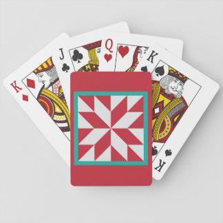 Cartes À Jouer Cartes de jeu d'édredon - l'étoile du chasseur