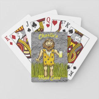 Cartes À Jouer Cartes de jeu d'homme des cavernes