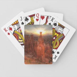 Cartes À Jouer Cartes de jeu du marteau du Thor de canyon de
