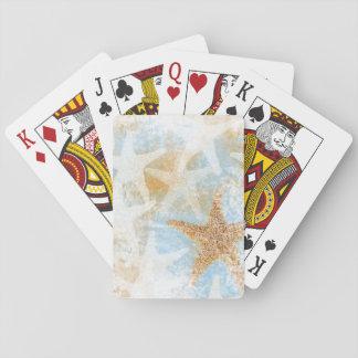 Cartes À Jouer Cartes de jeu du thème   d'étoile de mer d'étoiles