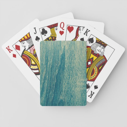 Cartes À Jouer Cartes de jeu en bois de conception