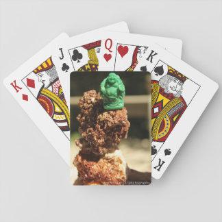 Cartes À Jouer Cartes de jeu en cristal chanceuses de pile de