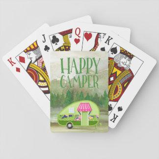 Cartes À Jouer Cartes de jeu extérieures de campeur