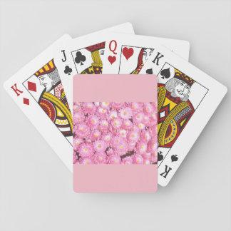 Cartes À Jouer Cartes de jeu florales
