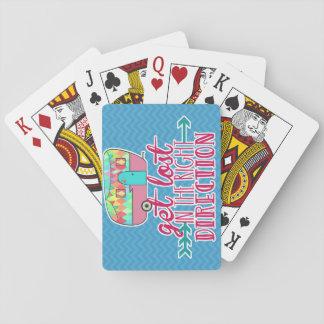 Cartes À Jouer Cartes de jeu orientées campantes