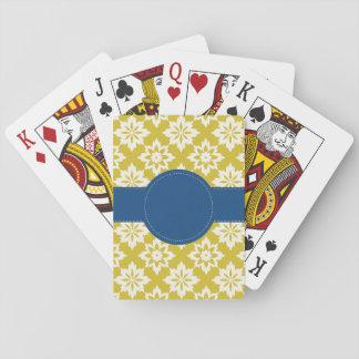 Cartes À Jouer Cartes de jeu personnalisées par marine de