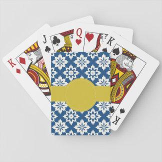 Cartes À Jouer Cartes de jeu personnalisées par moutarde de